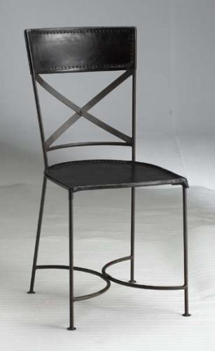 chaise en fer forg - Chaise En Fer
