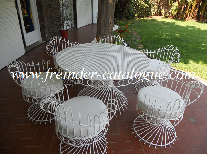 Ameublement casablanca mobilier casablanca meubles for Salon fer forge catalogue